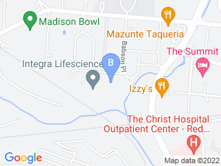 Map of Red Dog Pet Resort & Spa Dog Boarding options in Cincinnati | Boarding