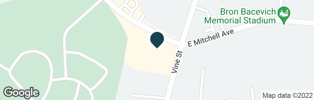 Google Map of9 W MITCHELL AVE