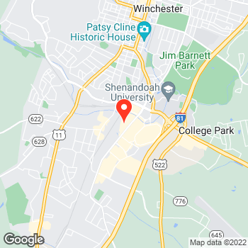 Map of Pizza en Winchester, VA – Cicis Pizza at 2059 S Pleasant Valley Rd, Winchester, VA 22601