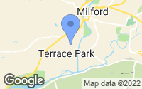 Map of Terrace Park, OH