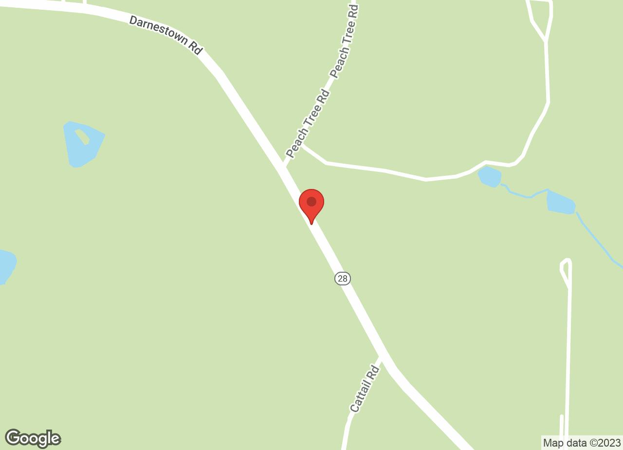 Google Map of VCA Peachtree Animal Hospital