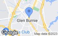 Map of Glen Burnie, MD