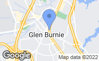 Map of Glen Burnie, MD