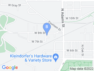 Map of Andi Haynes Pet Care Services Dog Boarding options in Bloomington | Boarding