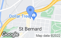Map of Saint Bernard, OH