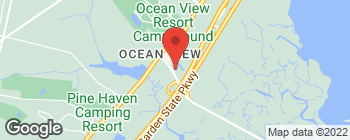 Map of 526 Sea Isle Blvd in Ocean View