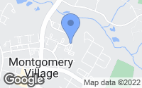 Map of Montgomery Village, MD