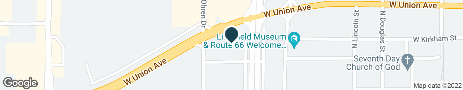 Google Map of1202 W UNION AVE