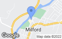 Map of Milford, OH