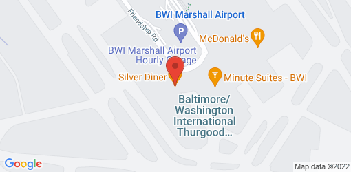 Directions to Silver Diner- BWI