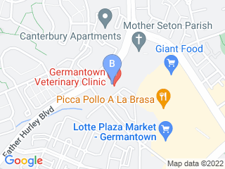Map of Germantown Veterinary Clinic Dog Boarding options in Germantown | Boarding