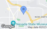 Map of Carson City, NV