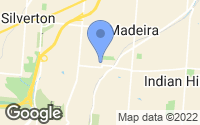 Map of Madeira, OH