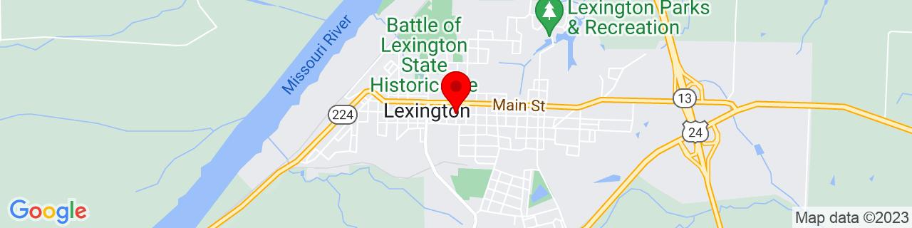 Google Map of 39.1843566, -93.8764504