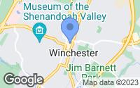 Map of Winchester, VA
