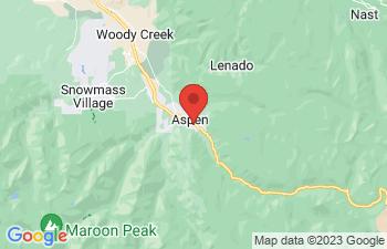 Map of Aspen