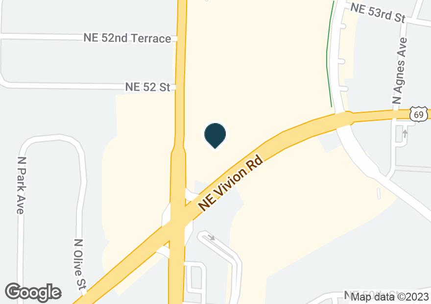 Google Map of2630 NE VIVION RD