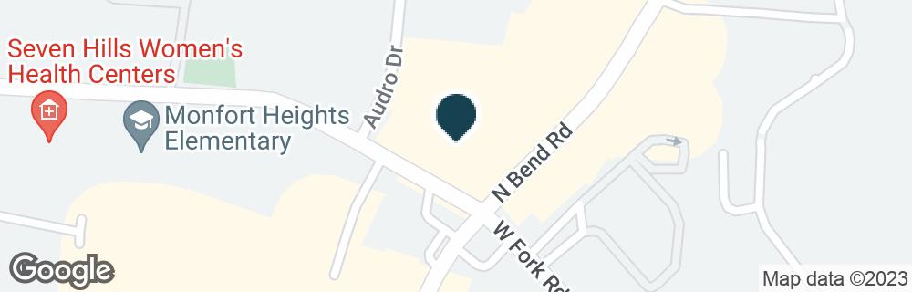 Google Map of5403 N BEND RD