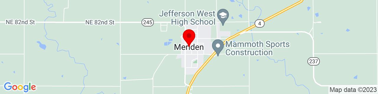 Google Map of 39.1888874, -95.56970009999999