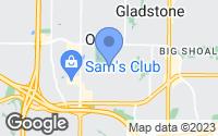 Map of Kansas City, MO