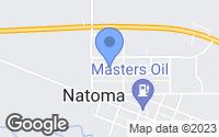 Map of Natoma, KS