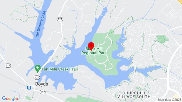 Google Map of 20926 Lake Ridge DR, Boyds, MD 20841