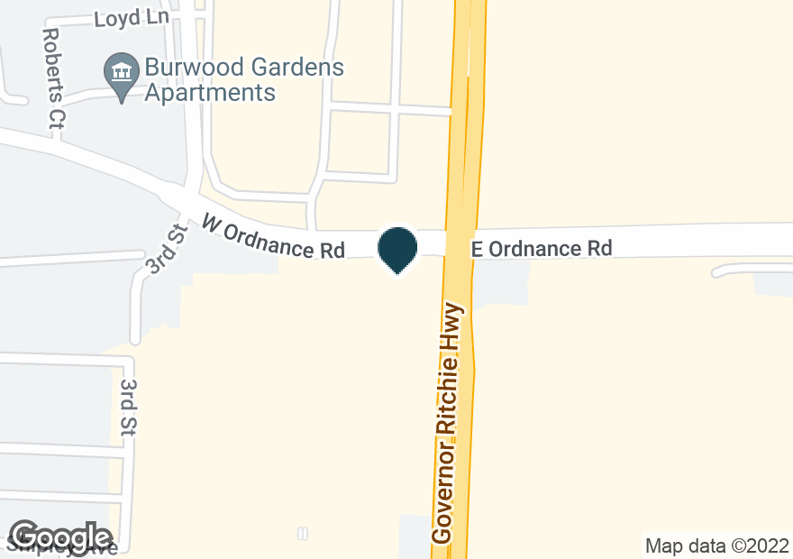 Google Map of6700 RITCHIE HWY