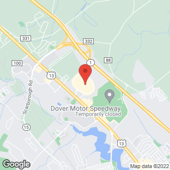 Map of location-map at 1365 North Dupont Highway , Dover, DE 19901