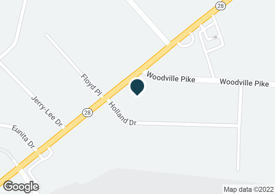 Google Map of1243 STATE ROUTE 28