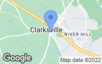 Map of Clarksville, MD