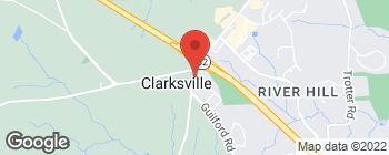 Map of 12447 Clarksville Pike in Clarksville