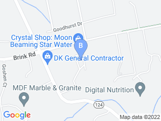 Map of The Pet Stop Dog Boarding options in Gaithersburg | Boarding