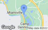 Map of Camp Dennison, OH