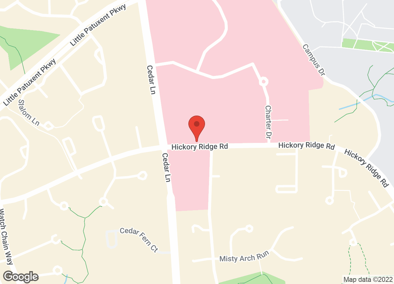 Google Map of VCA Columbia Animal Hospital at Hickory Ridge
