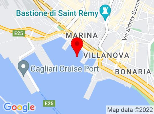 Google Map of Cagliari