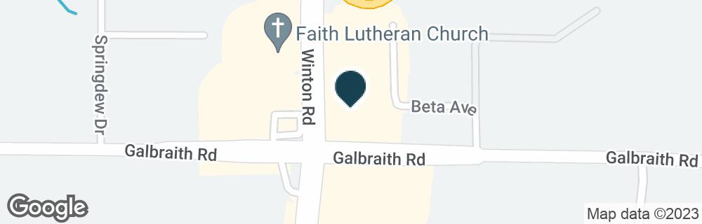 Google Map of8210 WINTON RD