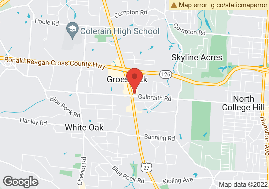 Google Map of 3084 W GALBRAITH RD