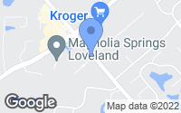 Map of Loveland, OH