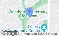 Map of Liberty, MO
