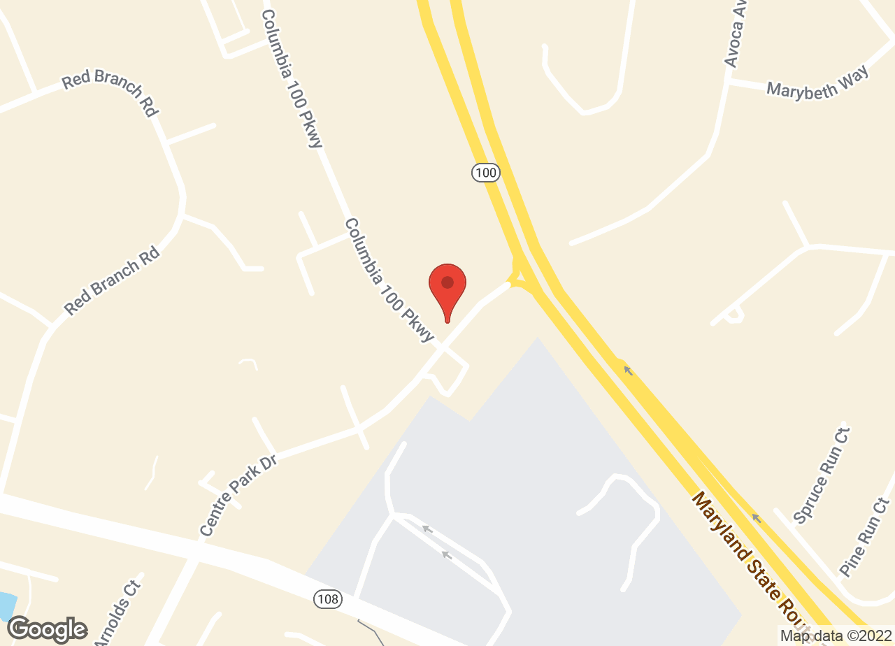 Google Map of VCA Columbia Animal Hospital at Centre Park