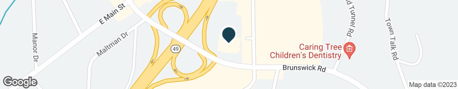 Google Map of880 SUTTON WAY