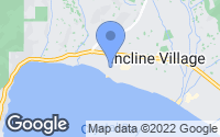 Map of Incline Village, NV