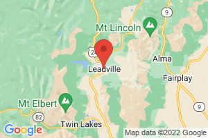 Map of Leadville