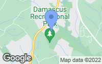 Map of Damascus, MD