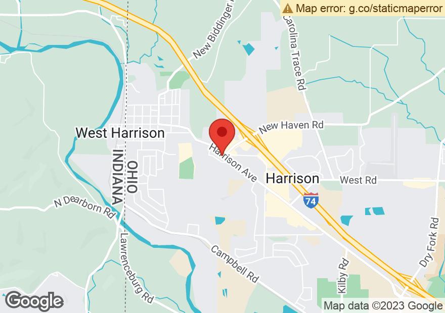 Google Map of 1032 HARRISON AVE