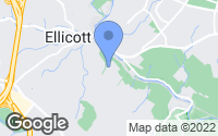 Map of Ellicott City, MD