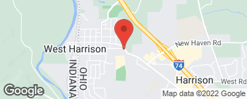 Map of 1150 Harrison Ave in Harrison