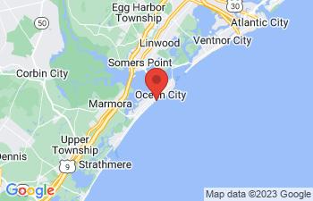 Map of Ocean City