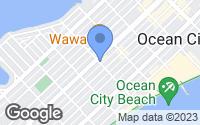 Map of Ocean City, NJ