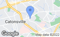 Map of Catonsville, MD
